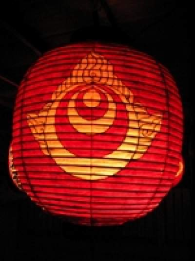Shinto lantern from one of our Tokyo English private tours
